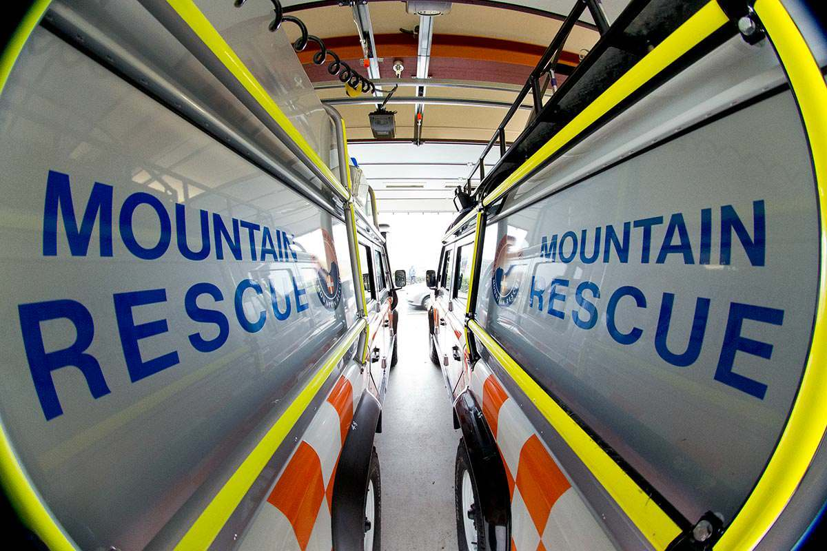 Mountain rescue cars