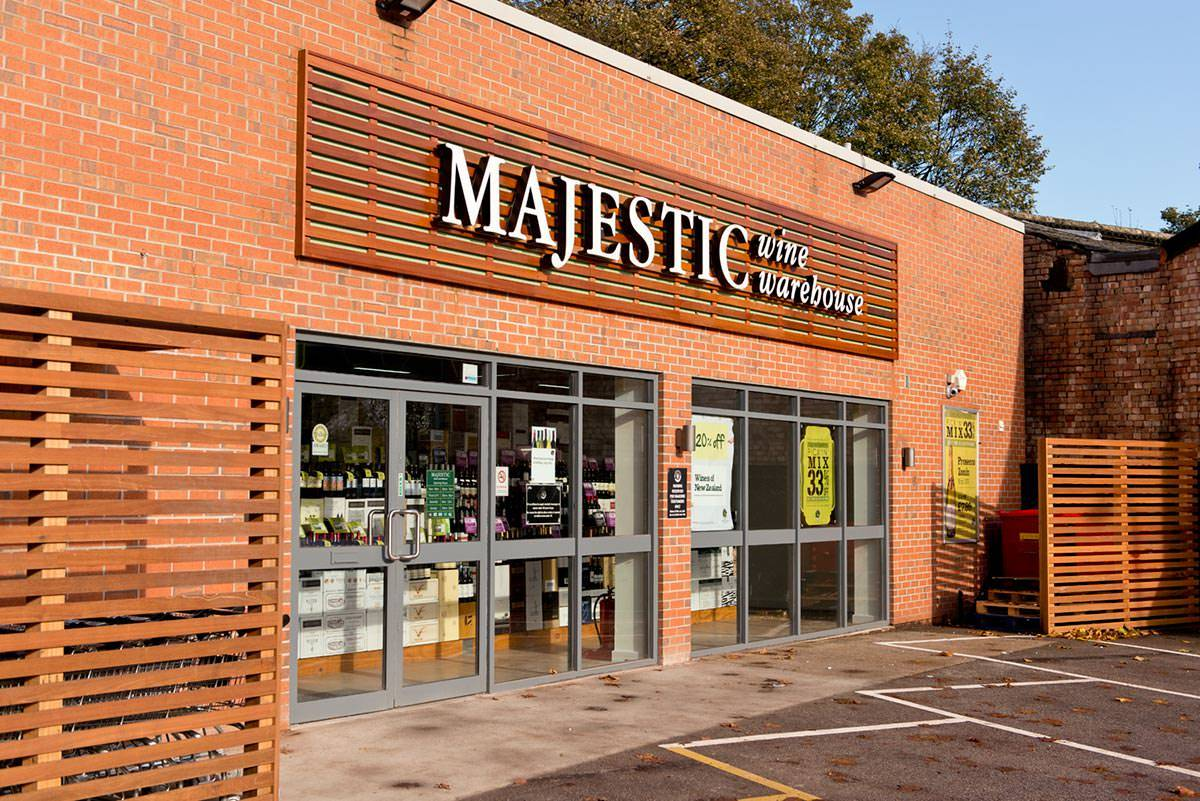 Majestic wines in Nottingham