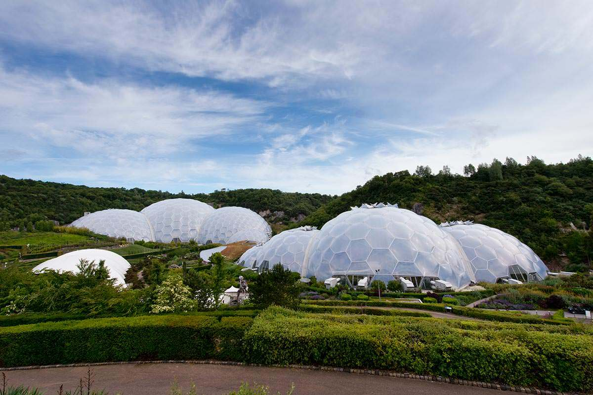 Commercial Photography at Eden Project