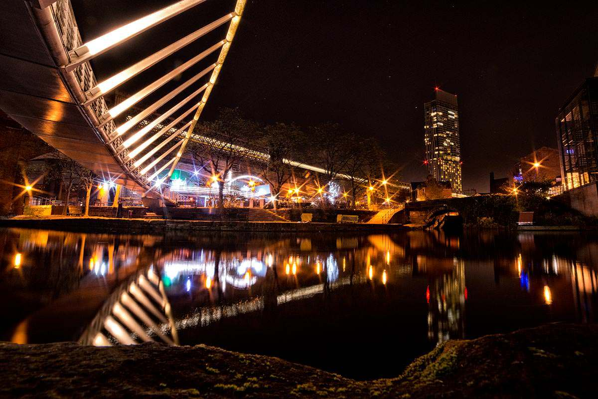 Commercial Photography Nottingham & Derby night shot