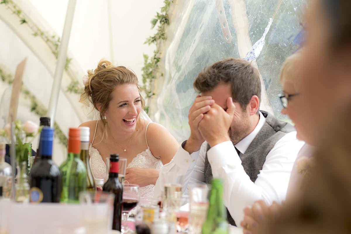 Documentary wedding photography in Nottingham & Derby good speeches