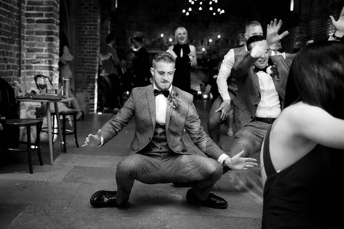 Dancing Documentary wedding photography in Nottingham & Derby