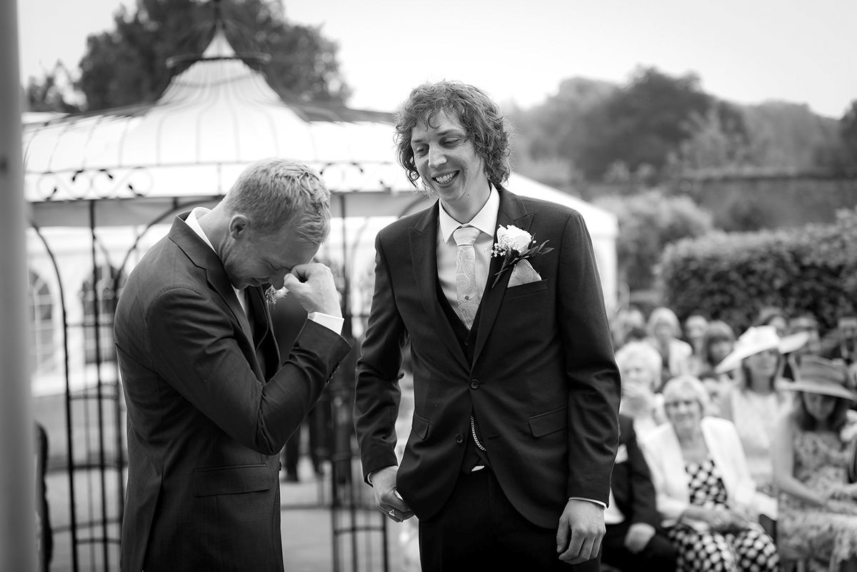 Documentary wedding photography in Derby