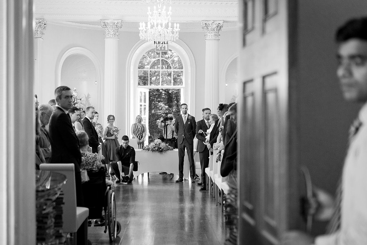 Documentary wedding photography in Nottingham Colwick Hall