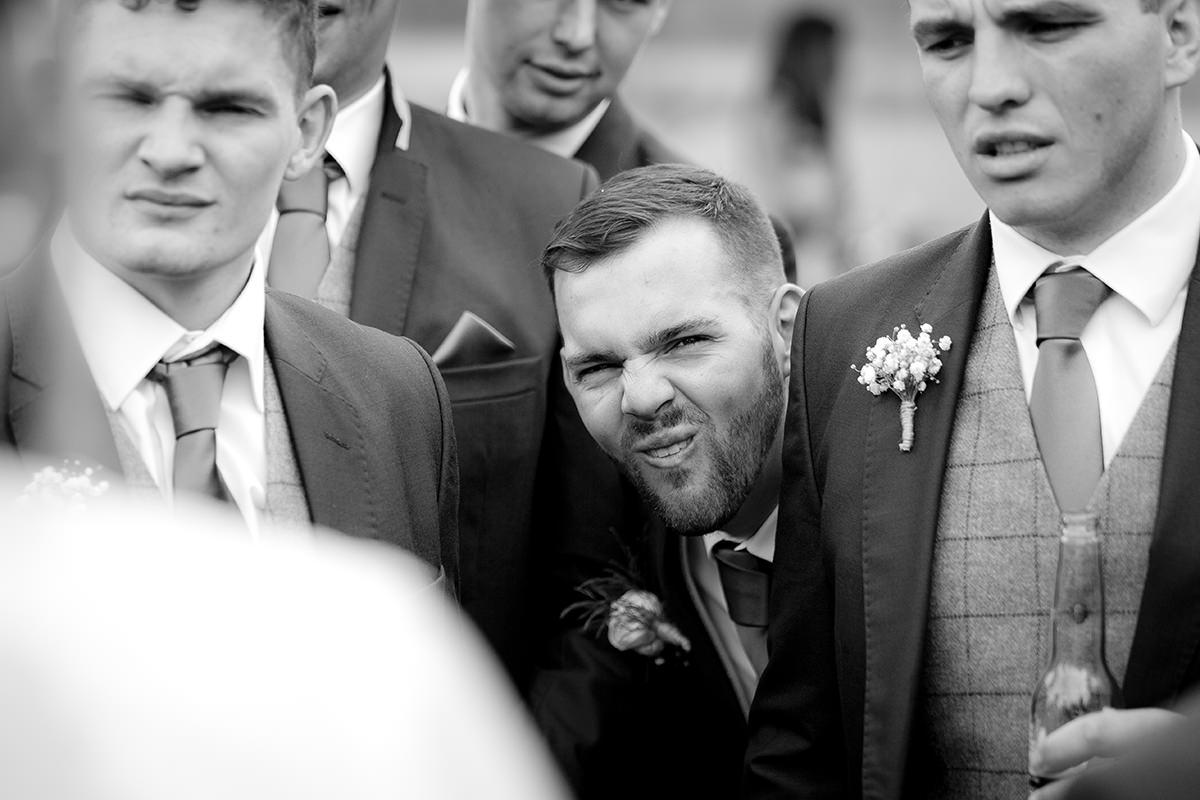 Documentary wedding photography Funny Face