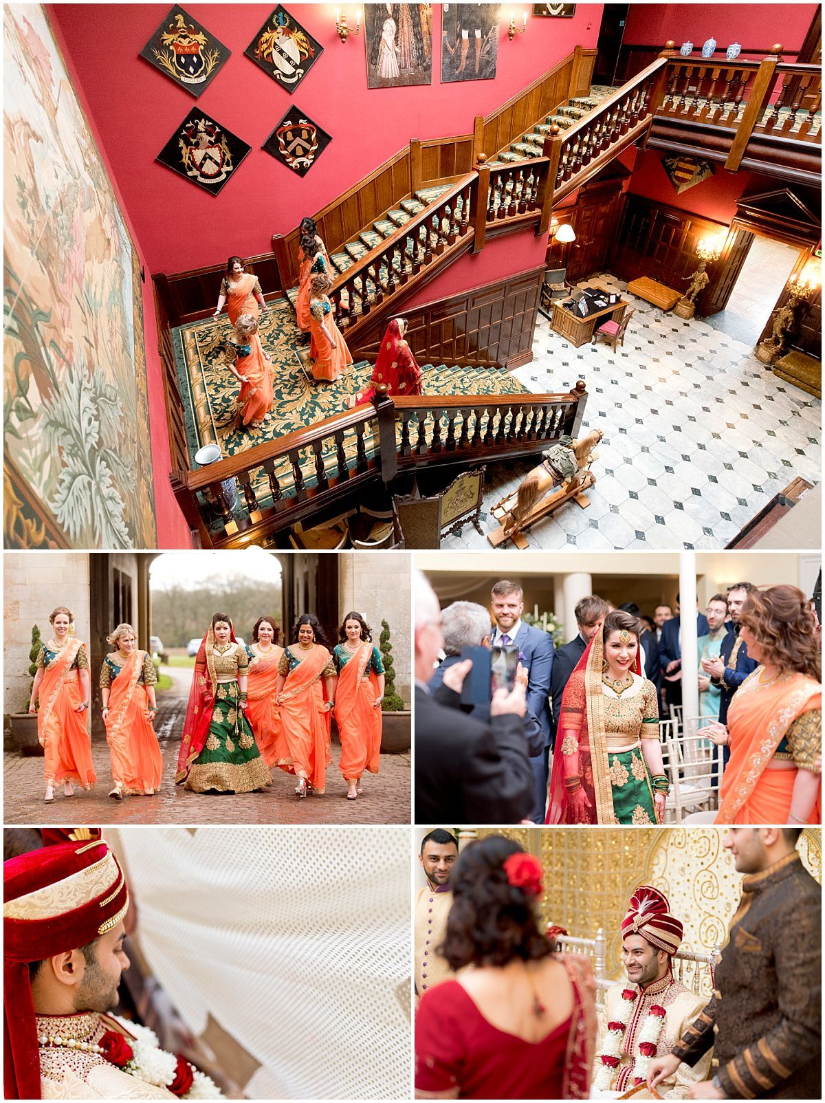 Hindu Wedding ceremony at Stapleford Park