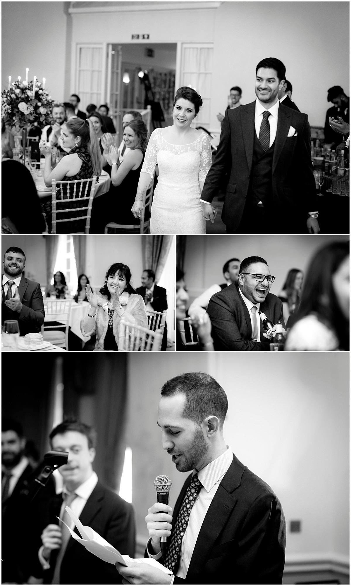 Hindu Wedding at Stapleford Park speeches