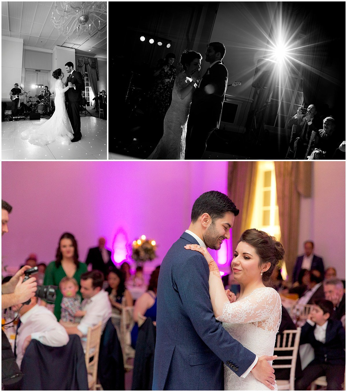 Hindu Wedding at Stapleford Park first dance