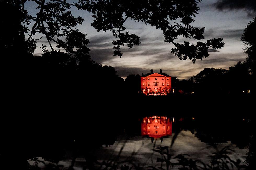 Norwood Park at night
