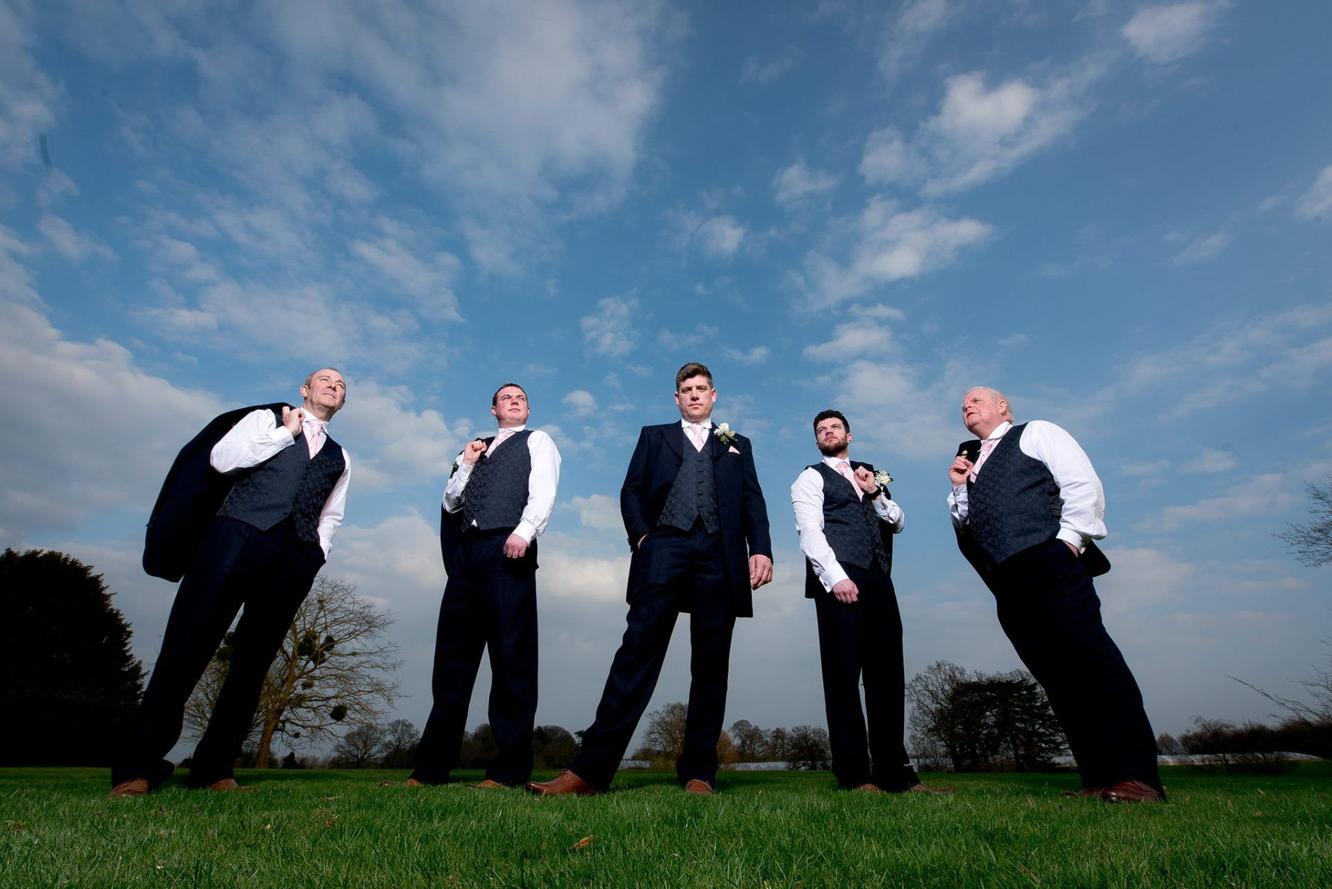 Groomsmen at Norwood Park
