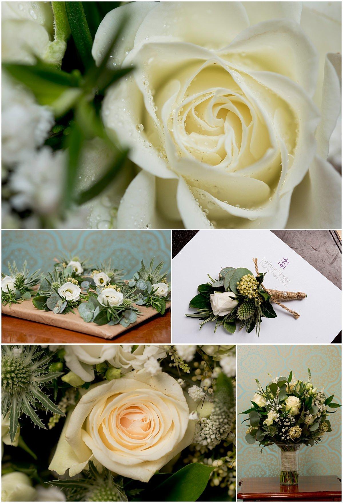Kelham House wedding flowers