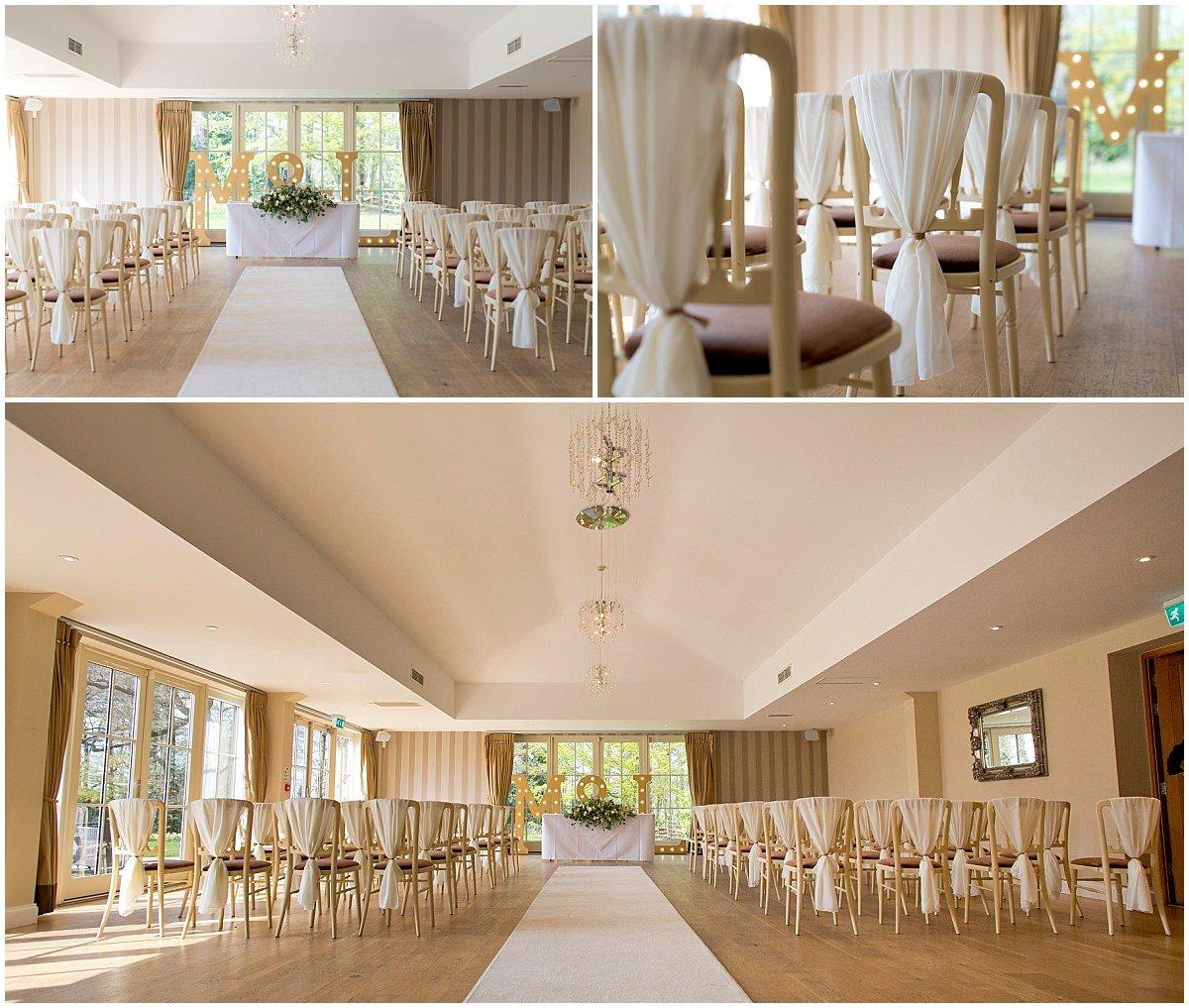 Spring wedding at Kelham House