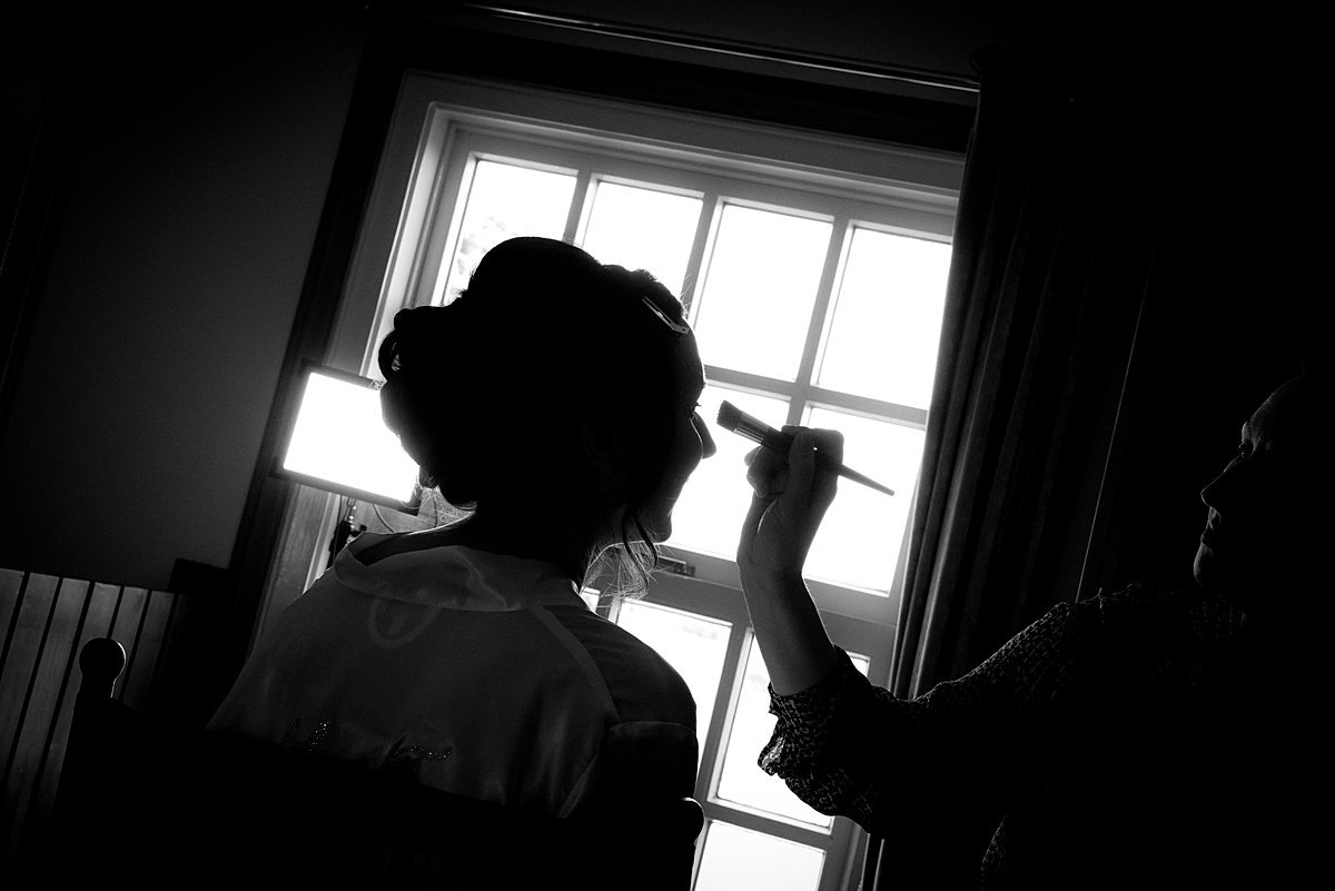 Swancar Farm Wedding Photography bridal prep