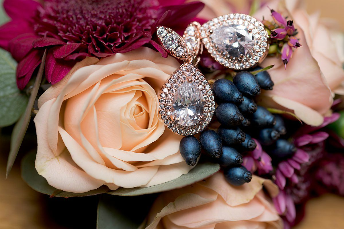 Swancar Farm Wedding Photography flower details