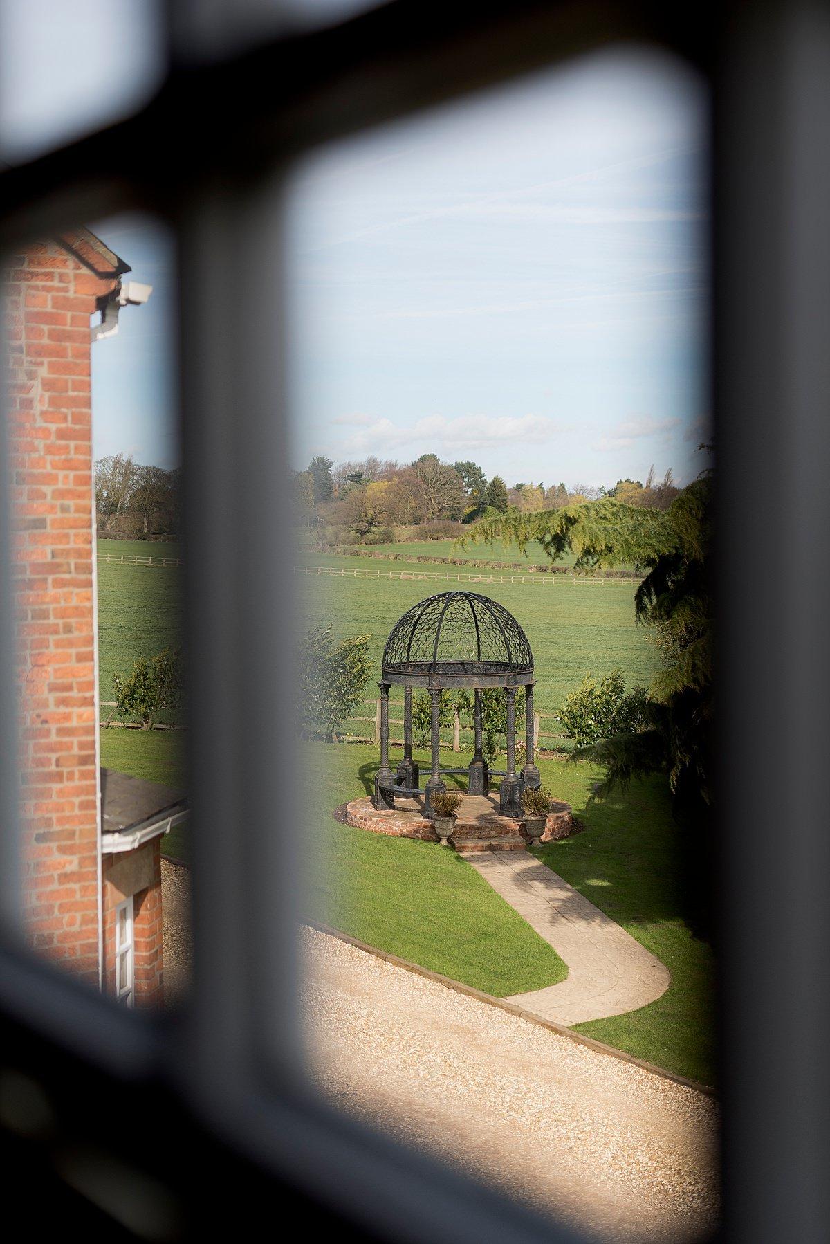 Swancar Farm Wedding Photography view from window