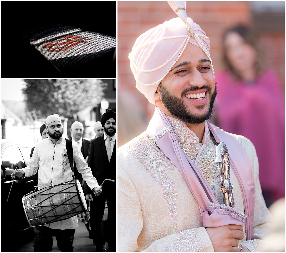 Sikh Wedding groom shot