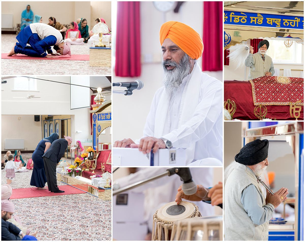 Sikh Wedding in Nottingham Ramgarhia Sabha temple