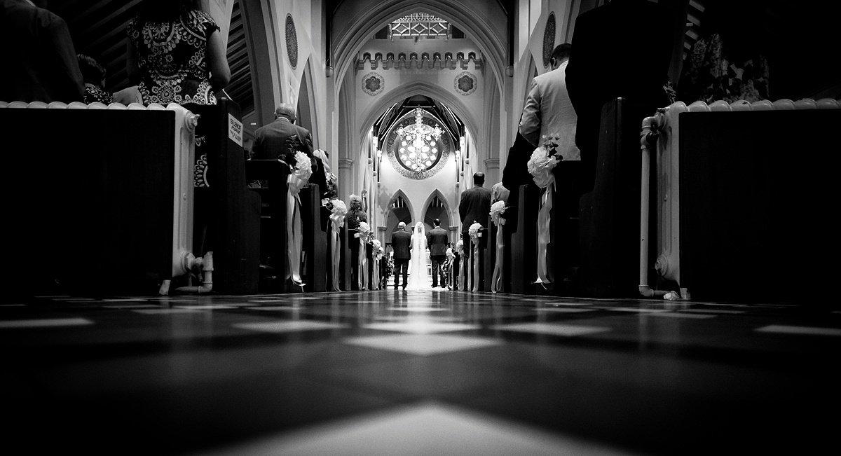 Nottingham Cathedral Portrait