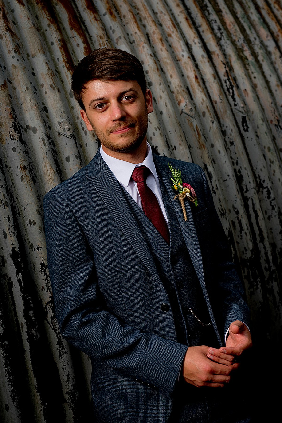 Groom portrait at The Carriage Hall