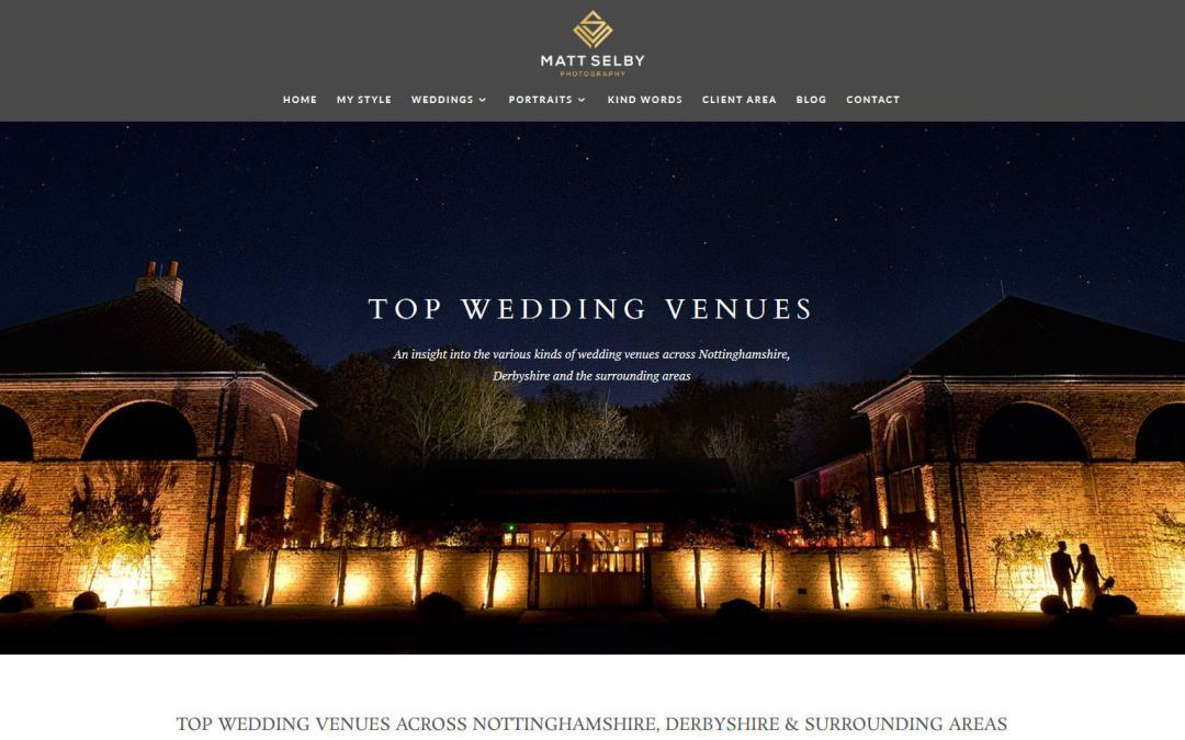 Best wedding venues in Nottingham & Derbyshire