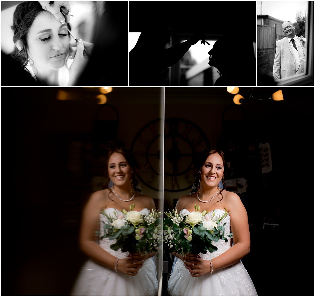 Rufford Mill Wedding Photography bride