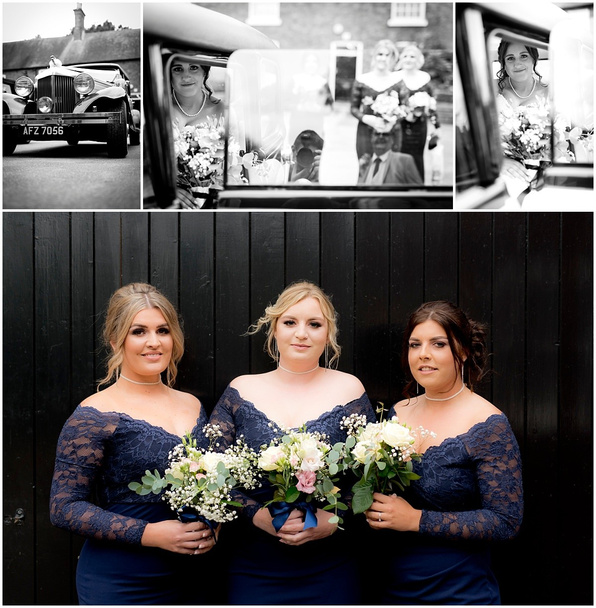 Rufford Mill Wedding Photography bridesmaids