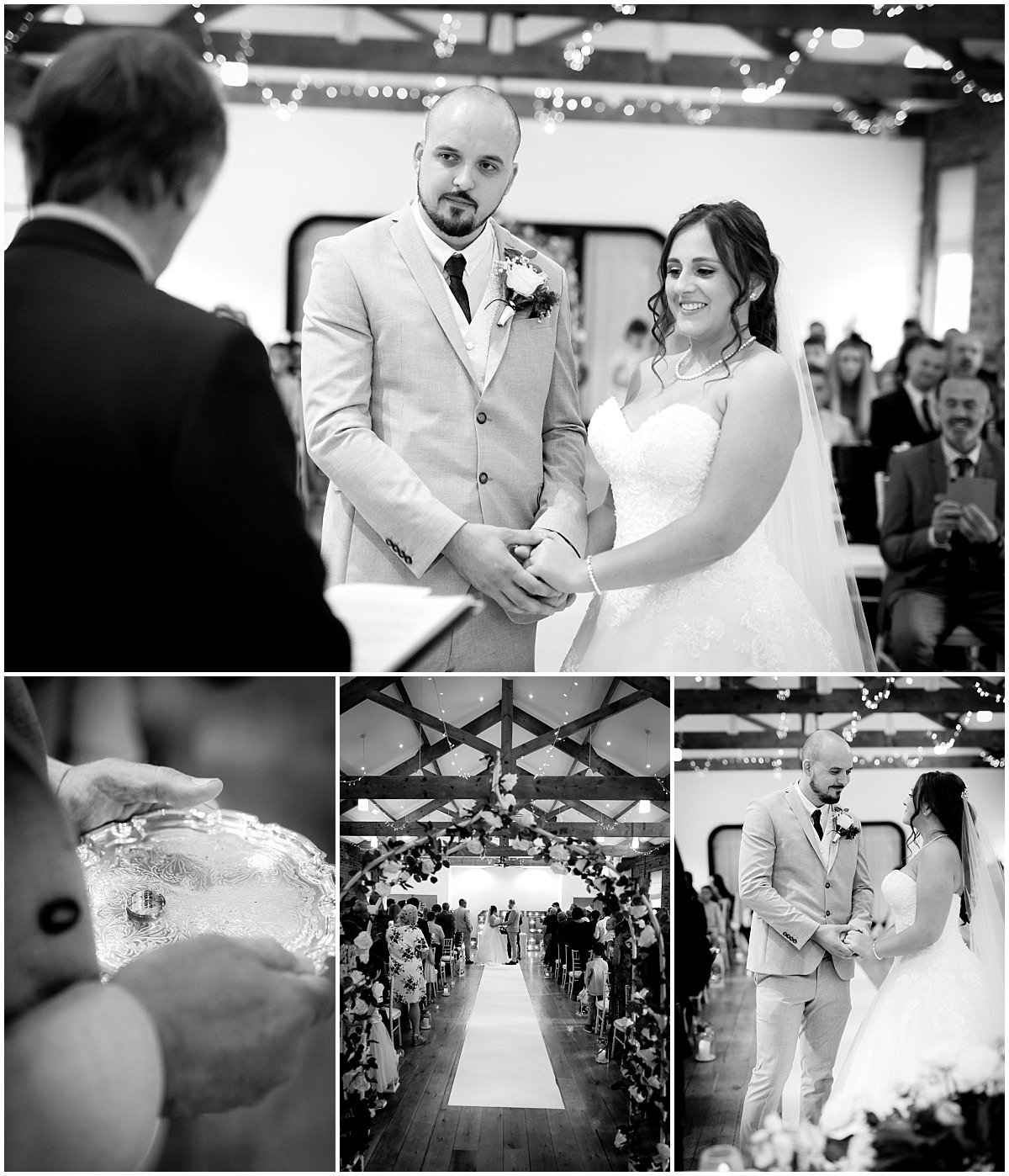 Rufford Mill Wedding ceremony