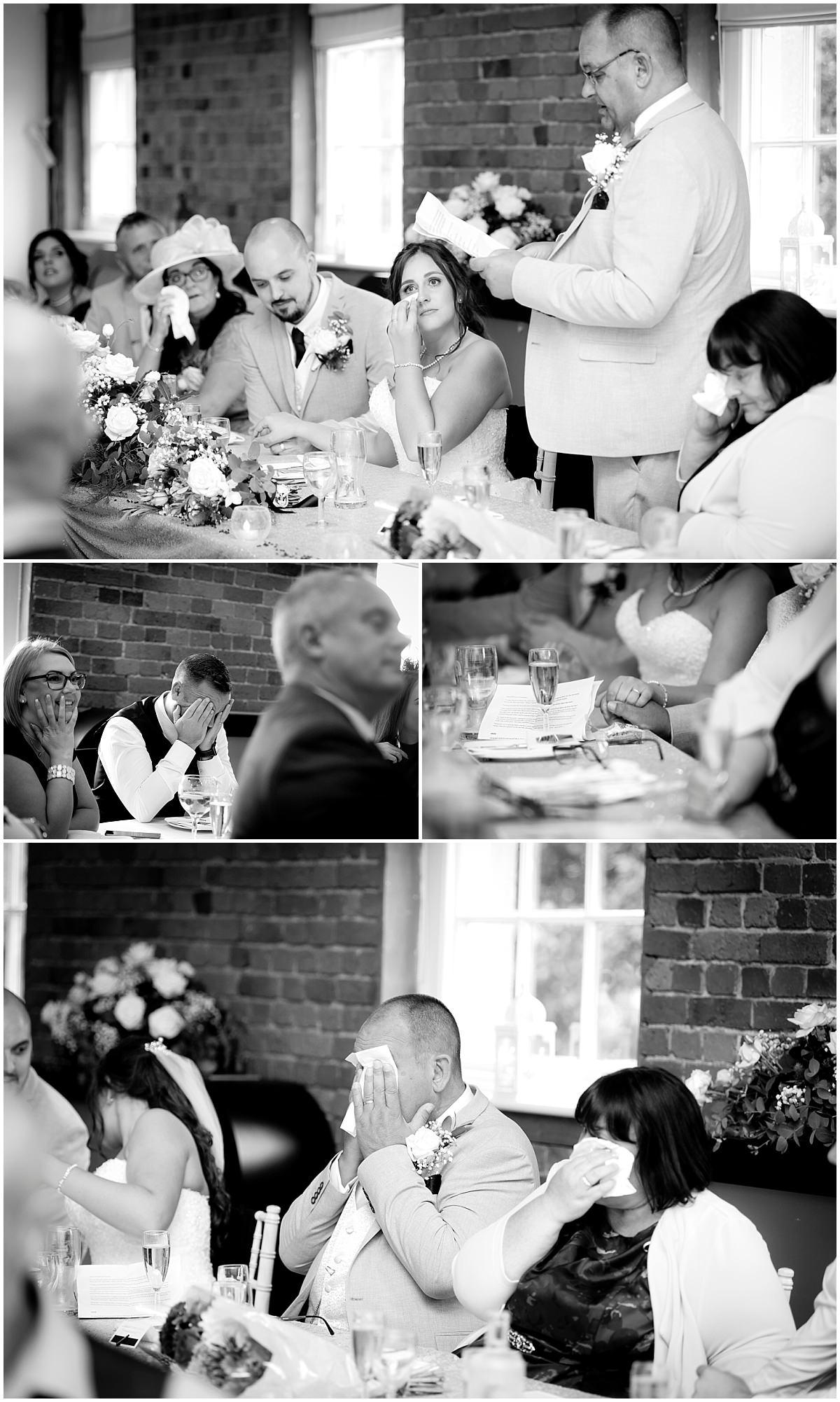 SPeech at Rufford Mill Wedding