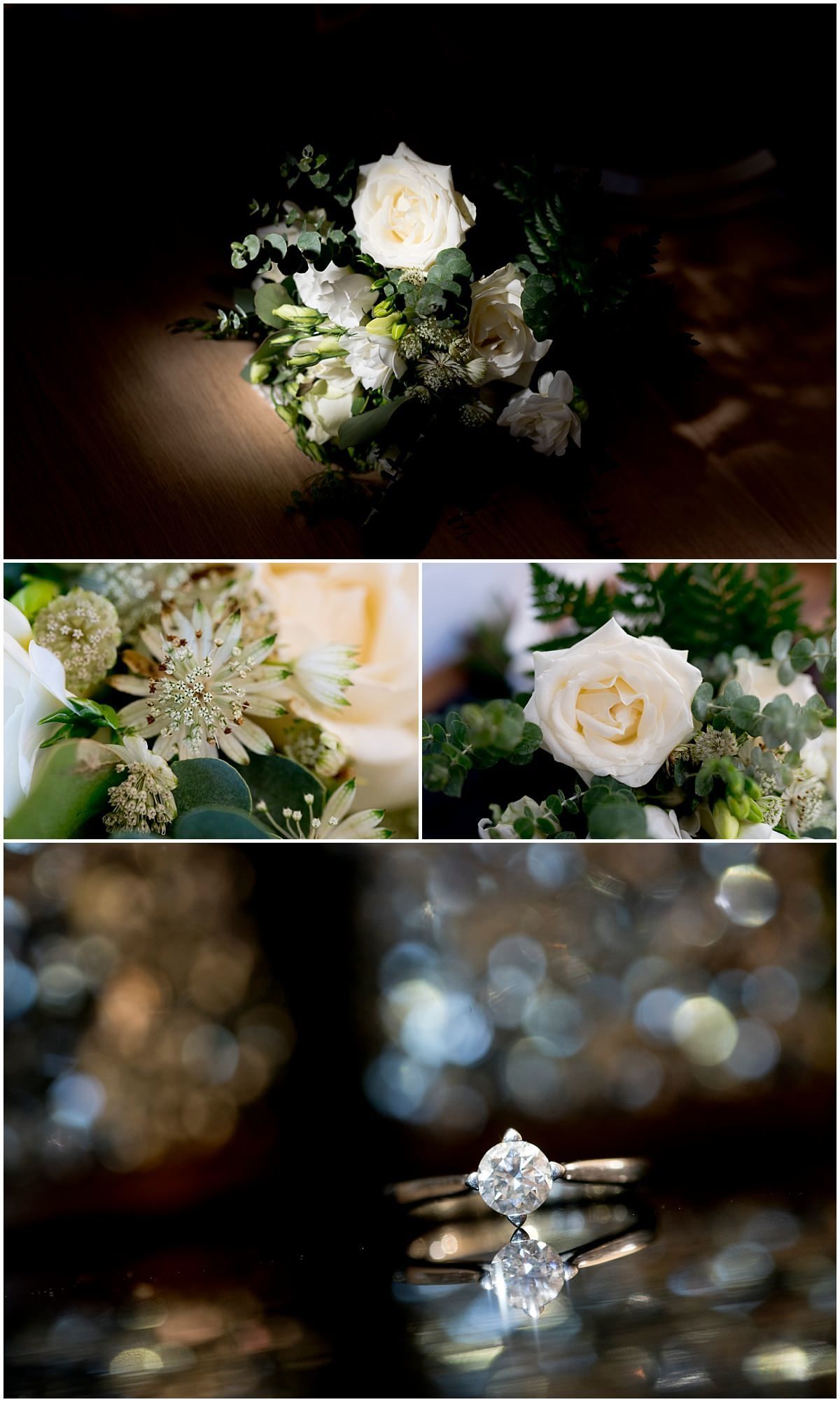 The Barns at Hunsbury Hill Wedding flowers