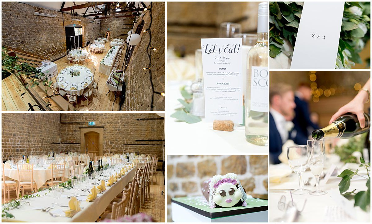 The Barns at Hunsbury Hill Wedding details