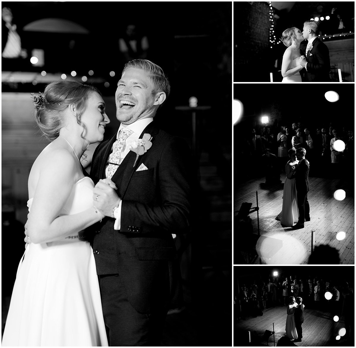The Barns at Hunsbury Hill Wedding dance