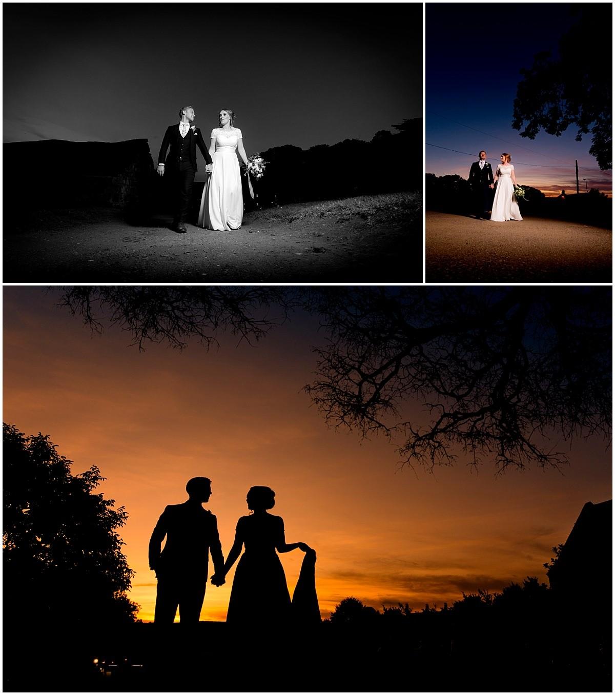 Epic bride and groom at The Barns at Hunsbury Hill Wedding