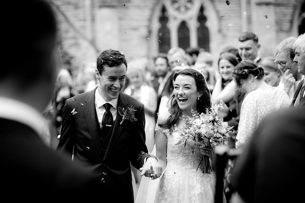 Documentary wedding photography in Nottingham & Derby Confetti