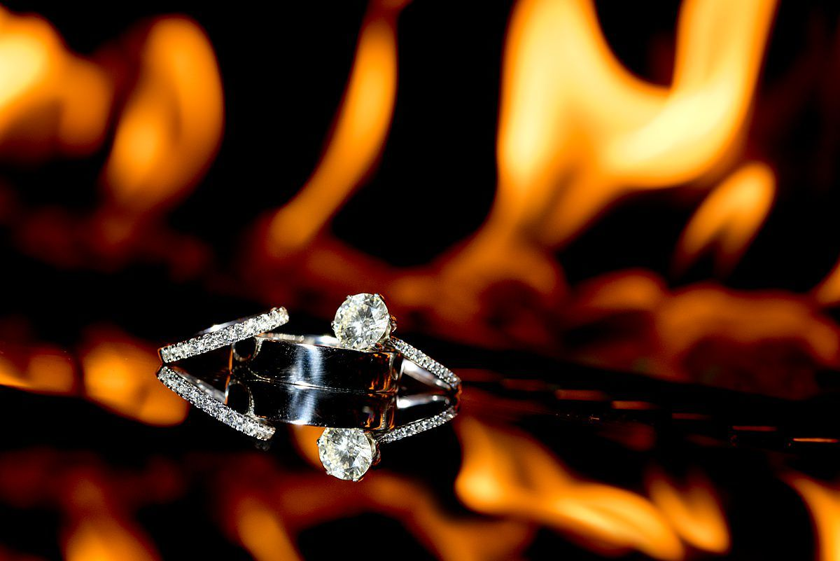 ring shot in fire