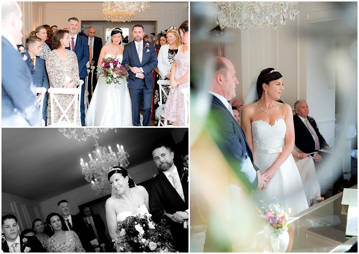 Wedding at The Old Vicarage Boutique Hotel ceremony