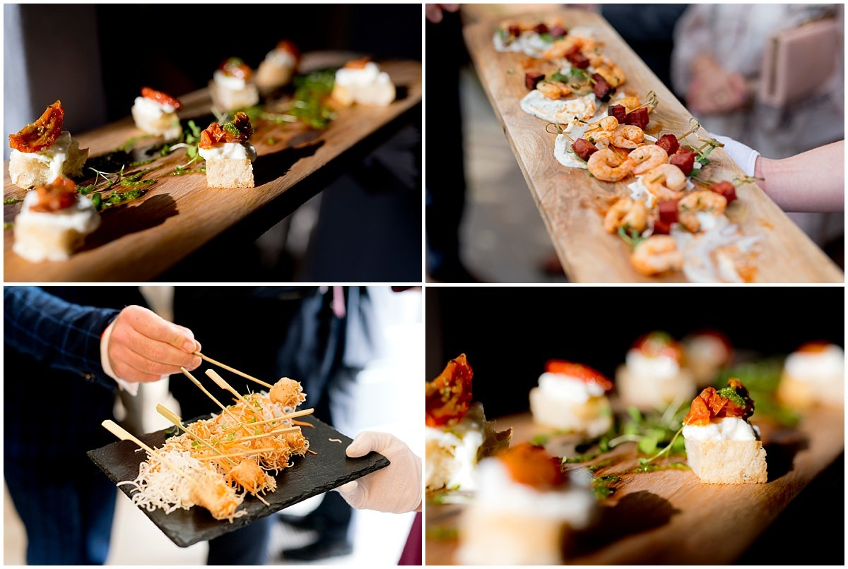 The Old Vicarage Boutique Hotel canapés