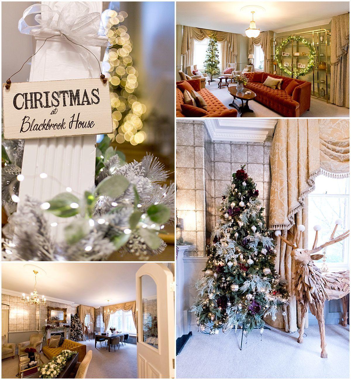 Wedding at Blackbrook House interior details