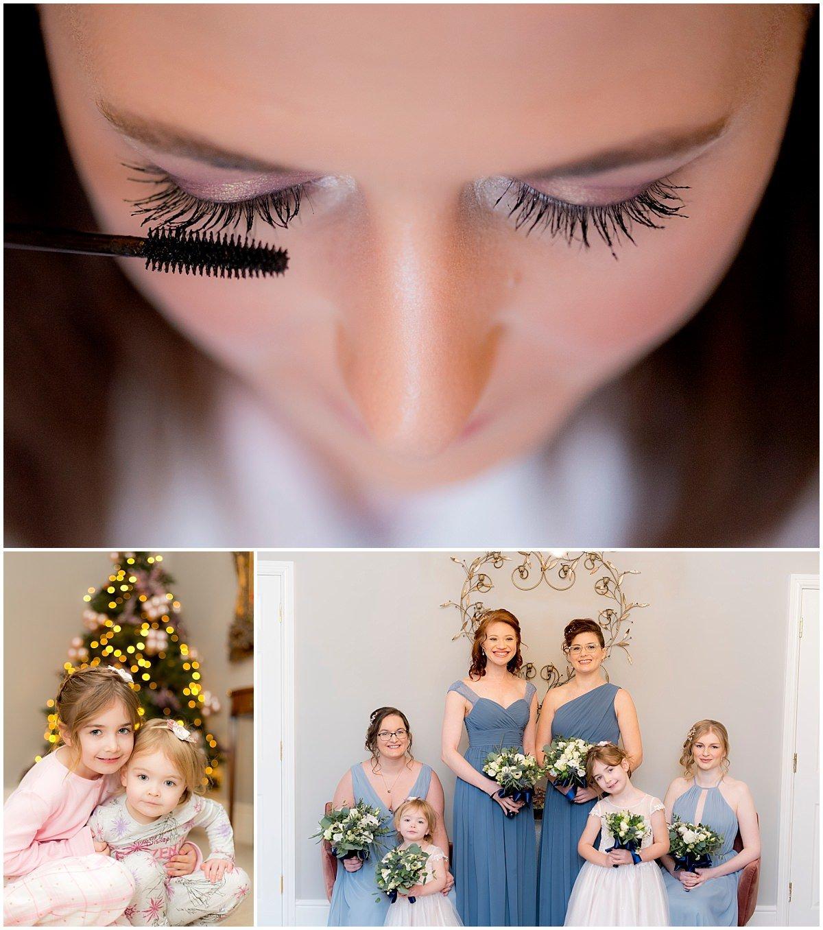 Wedding make up at Blackbrook House