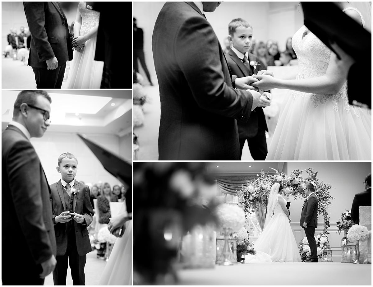 Wedding at Blackbrook House ceremony