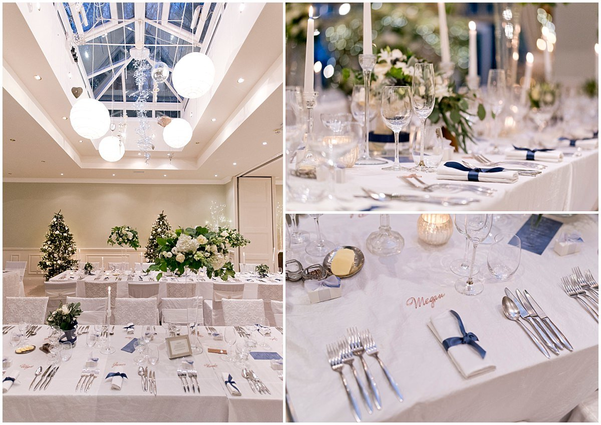 Wedding at Blackbrook House Room details