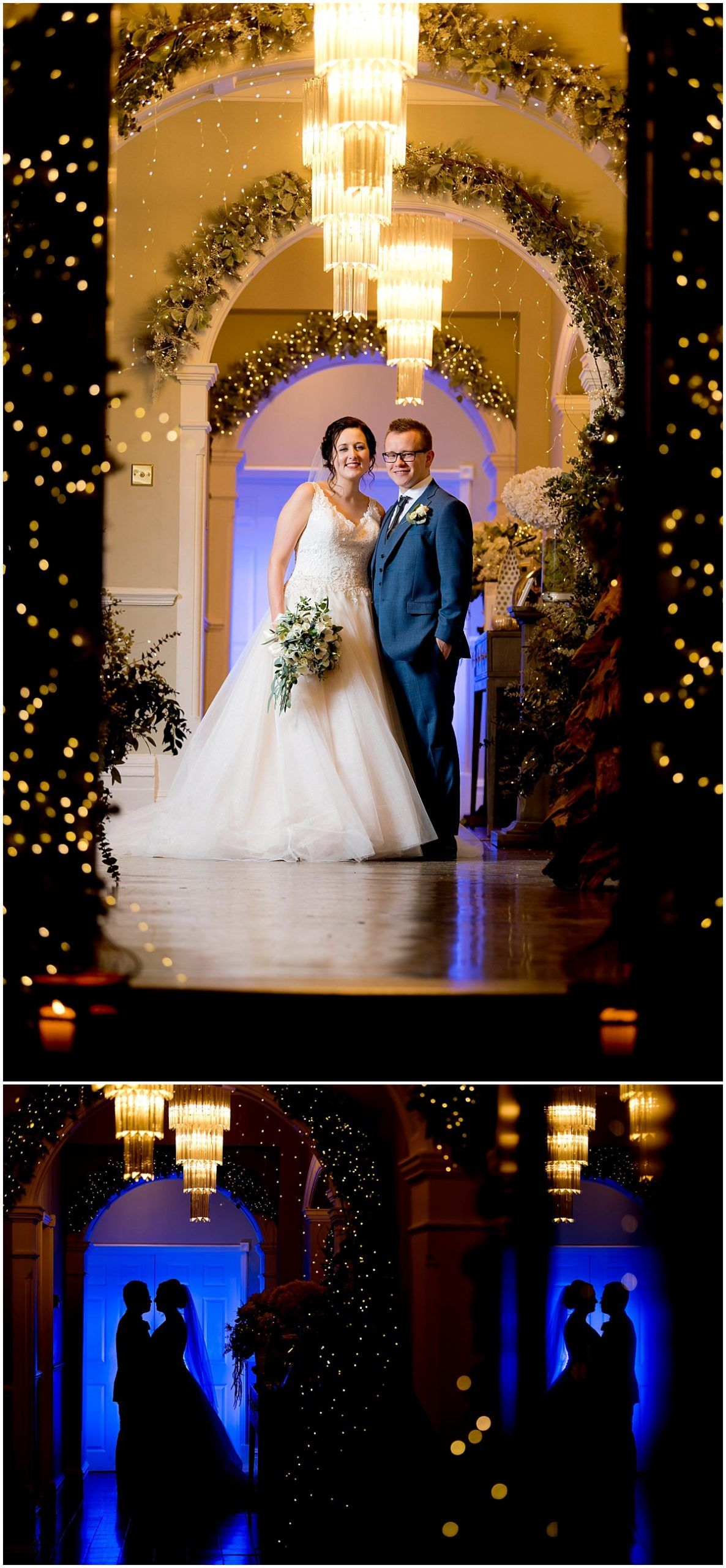 Wedding at Blackbrook House bride and groom