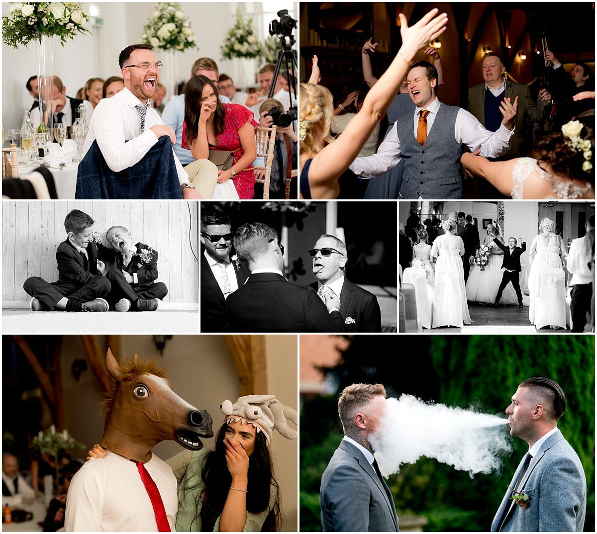 Epic fun photographs of guests