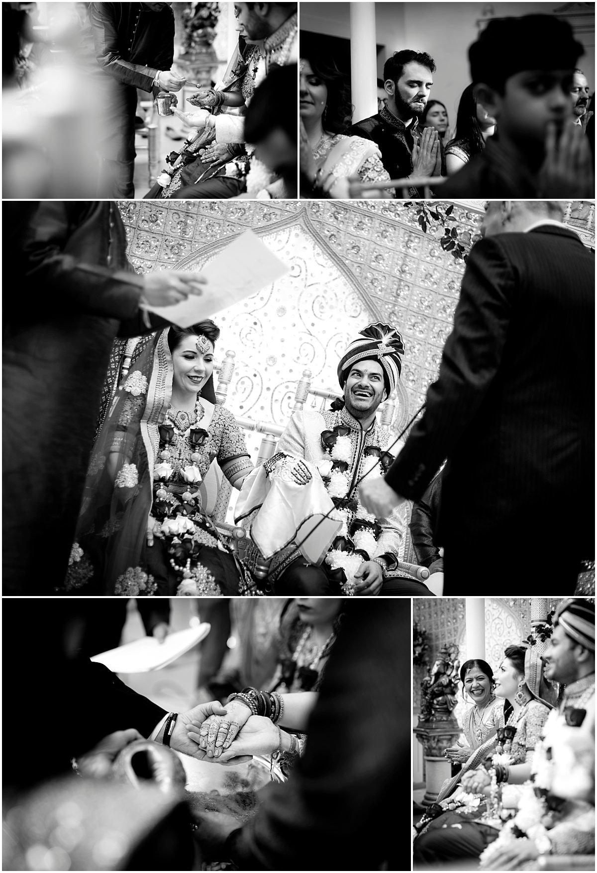 Groom at hindu wedding