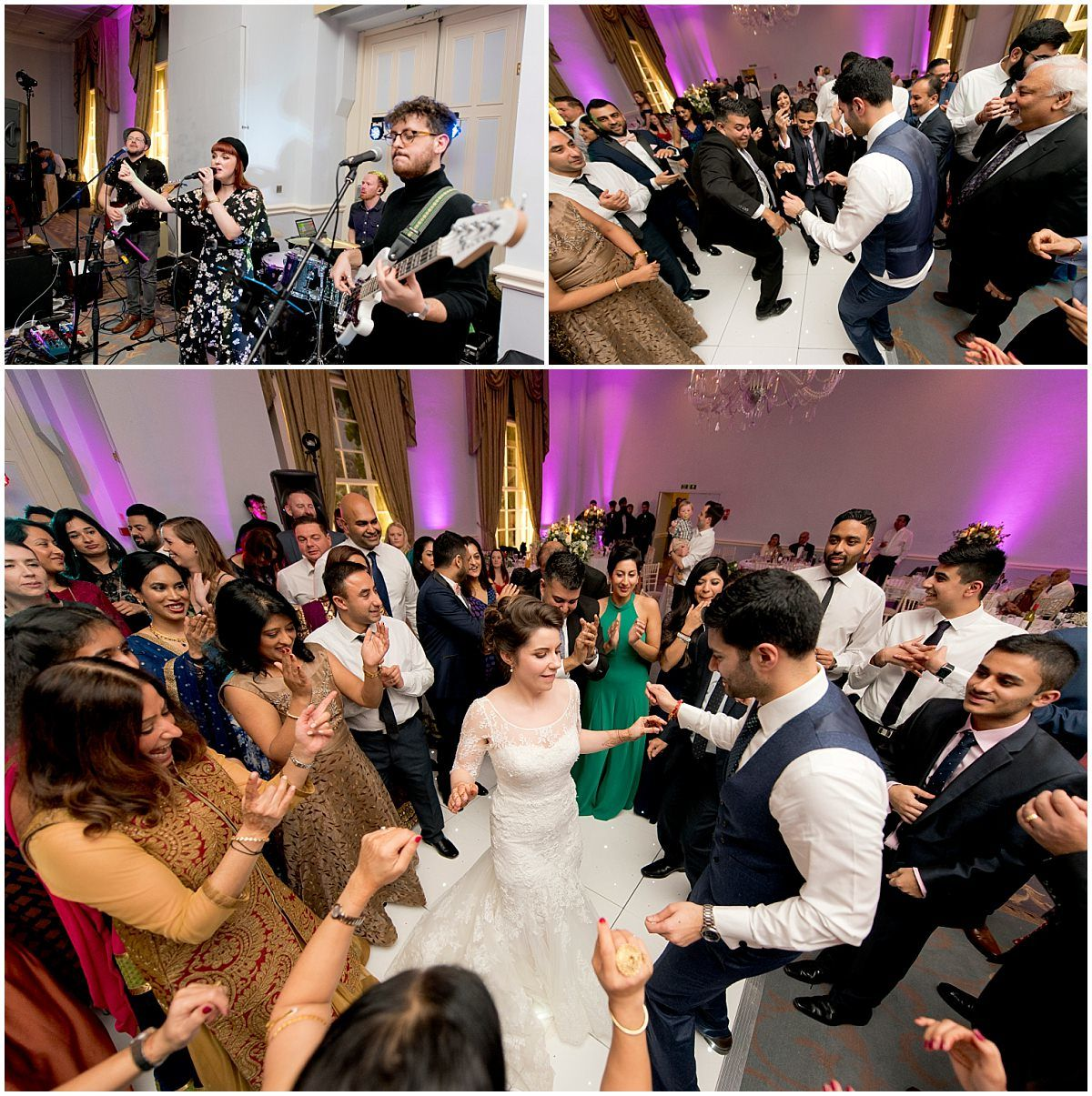Hindu wedding party