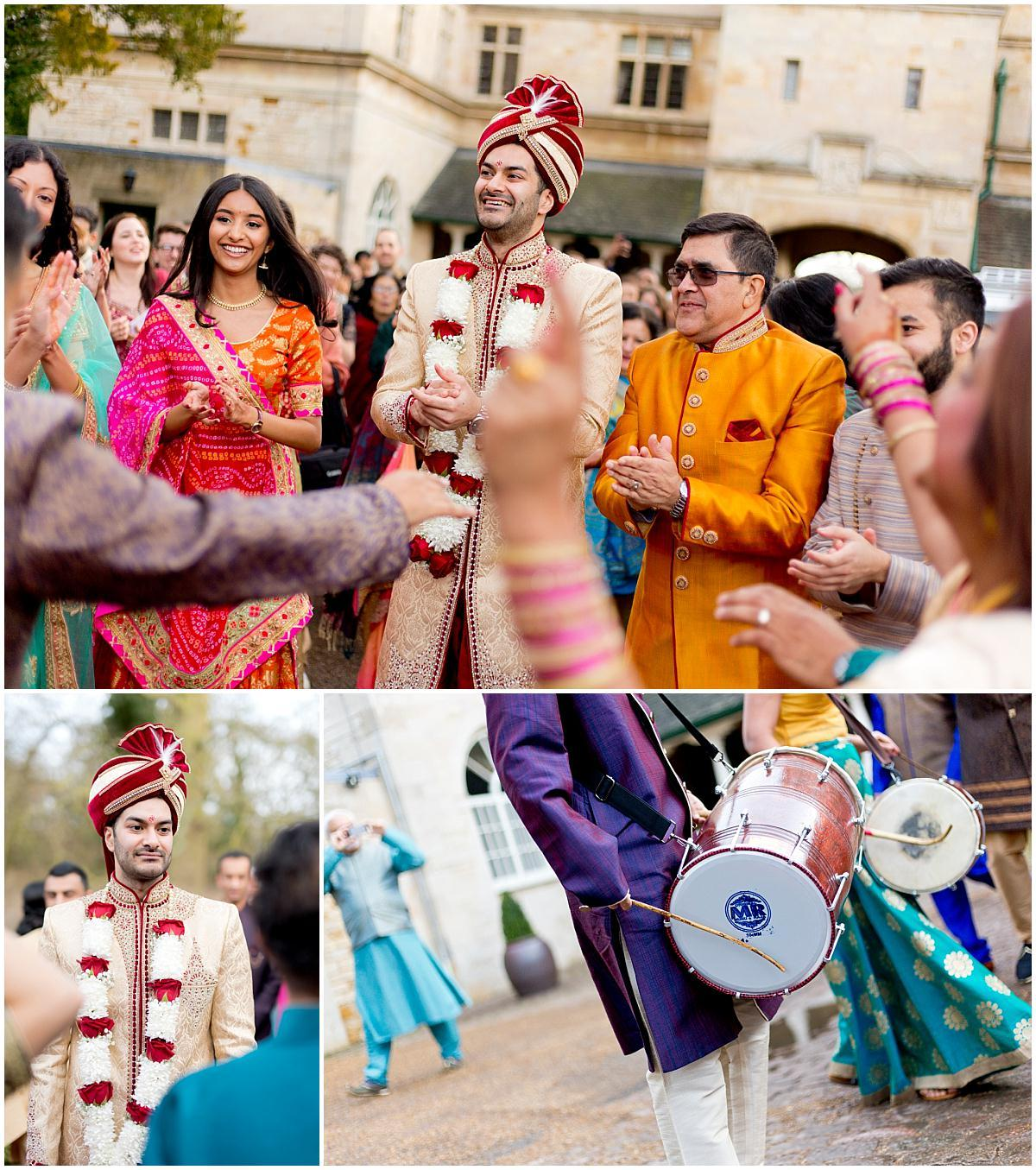 Hindu wedding celebrations