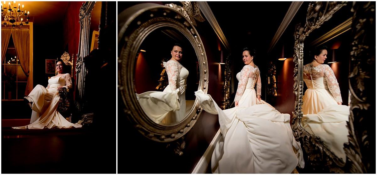 Humanist Wedding at Colwick Hall bride