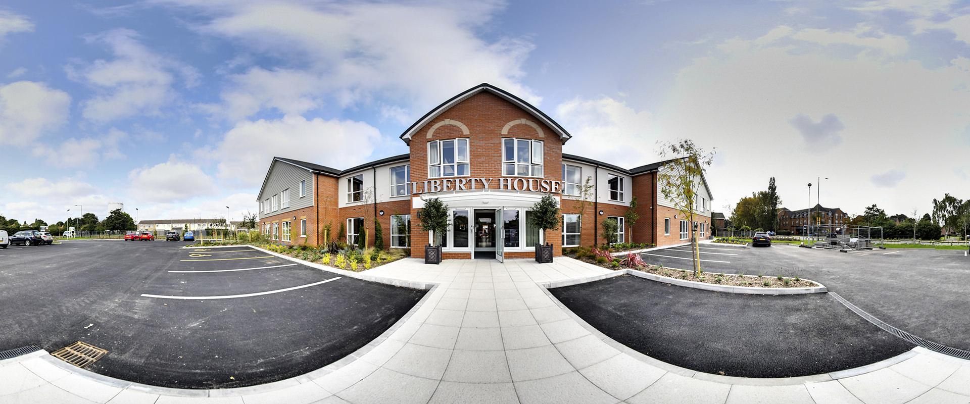 Virtual Tours Nottingham - Liberty House Care home