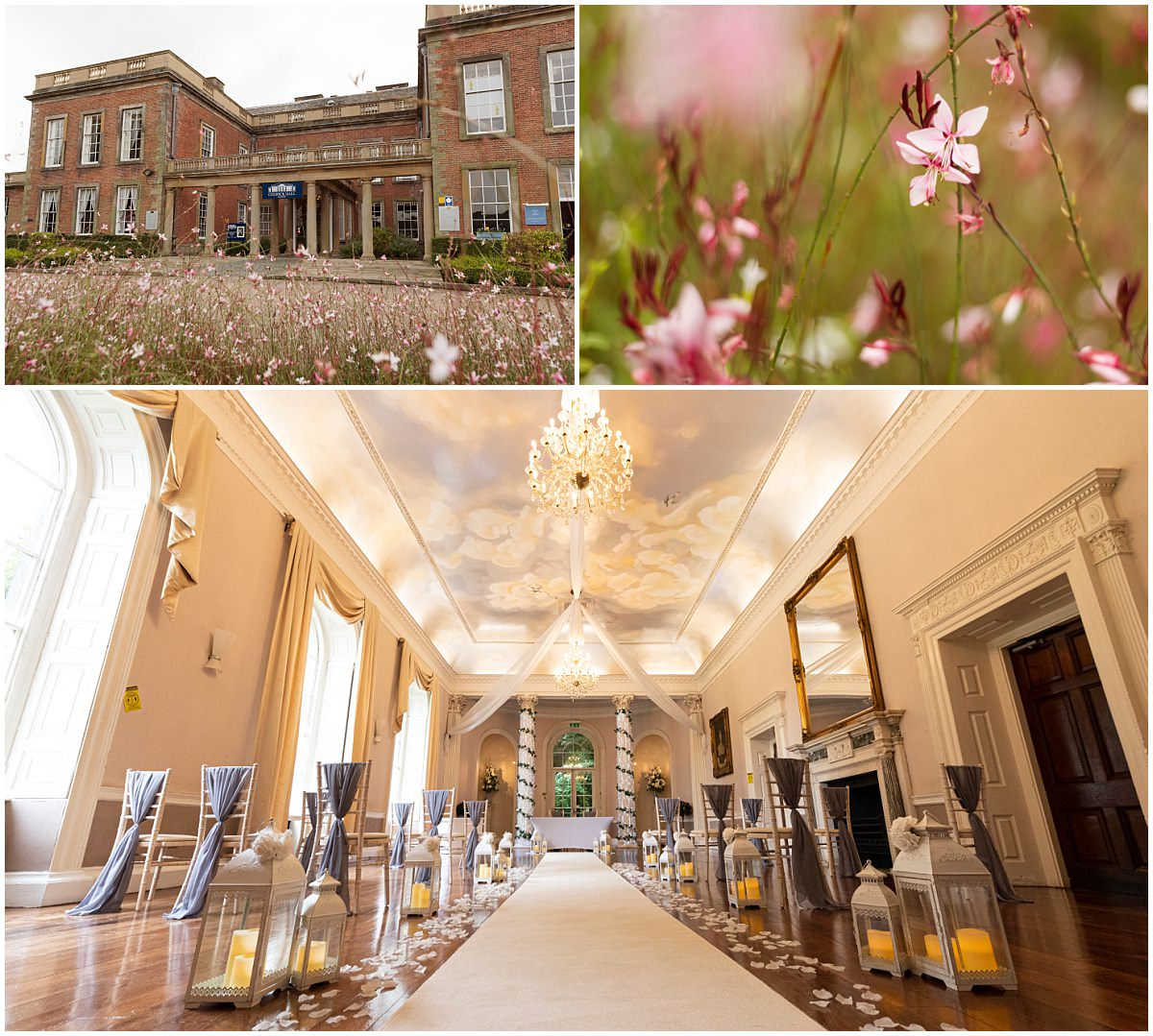 Wedding at Colwick Hall rOOM DETAILS