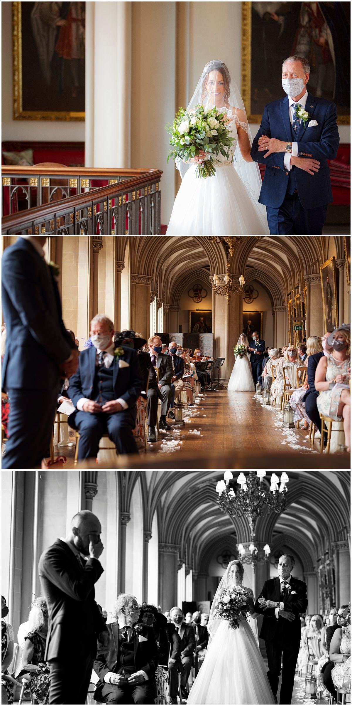 Belvoir Castle Wedding ceremony