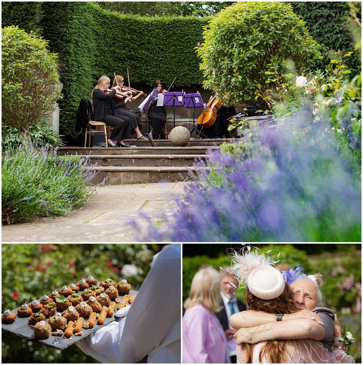 Belvoir Castle Wedding - rose gardens